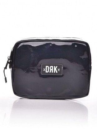 BLACK HOLOGRAMIC SHOULDER BAG