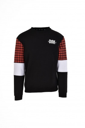 CREW NECK WITH SLEEVE COLOUR BLOCK MEN