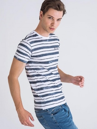 BODY STRIPED T-SHIRT MEN