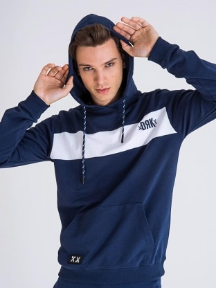 BODY STRIPED HOODIE MEN