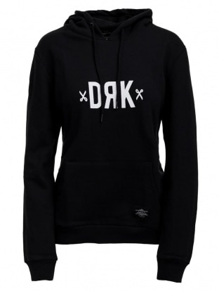 HOODY WOMEN BLACK