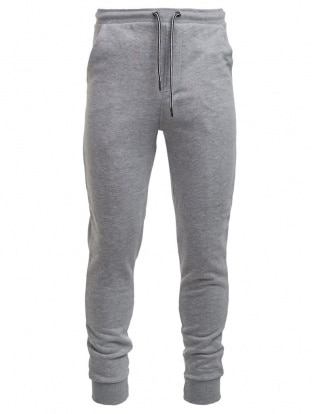 GRAY MELANGE MEN JOGGING PANTS