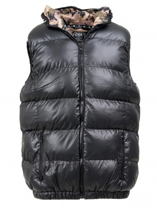 SNOWBALL MEN VEST BLACK